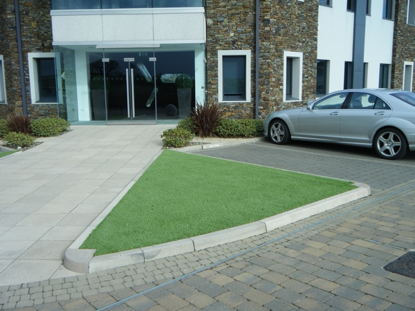 Synthetic Turf with Lezayre Landscapes Isle of Man